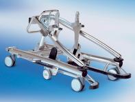 Produkt Bild: Maquet Magnus 1180 gebraucht mit Säule stationär und zwei Tischplatten mit Transporter